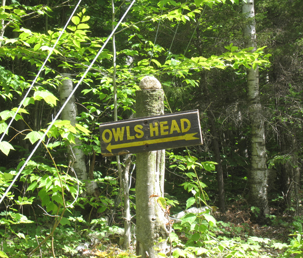Owls Head Trailhead