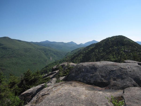 Peaks of Mpitchoff Mountain.