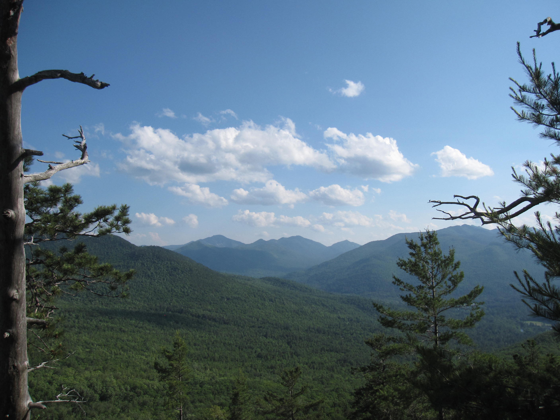 View from the top of Baxter Mountain in the Adirondacks