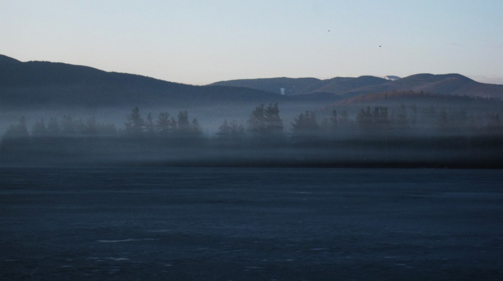 Ice Sublimation in the Adirondacks on the First Day of Spring 2012