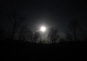 Adirondack Super Full Moon 2012