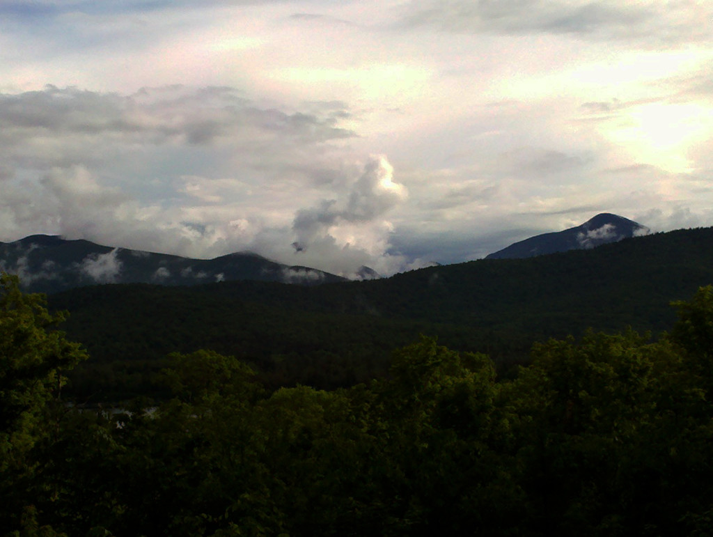 between June rainstorms in the Adirondacks 2012