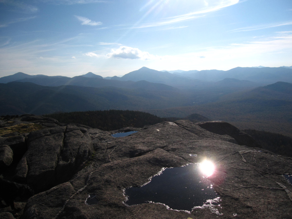 From the summit of Cascade Mountain in the Adirondacks