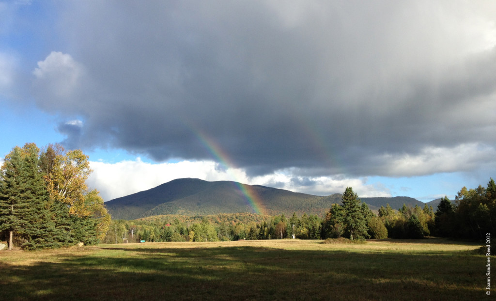 Fall rainbow in the Adirondacks 09-2012