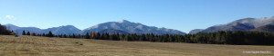 High Peaks Snow from Adirondack Loj Road 10.13.12