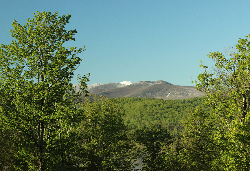 Mt. Marcy Adirondack Memorial Day Snow 2013