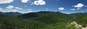 Summer in the High Peaks of the Adirondack Mountains