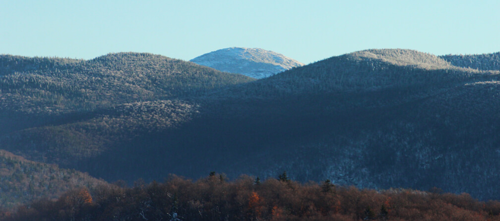 Early Snow on Mt. Marcy in the Adirondack Mountains of Northern New York
